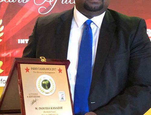 Le PDG DE CIM METAL GROUP DESIGNE MEILLEUR PRODUCTEUR AFRICAIN DE MATERIAUX DE CONSTRUCION