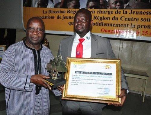 Promotion de la jeunesse : les mérites de Inoussa KANAZOE reconnus