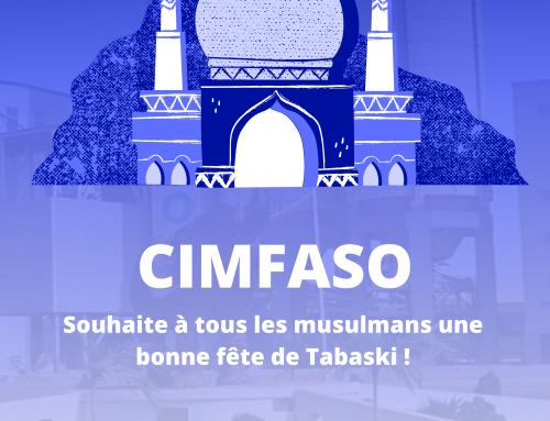 CIMFASO vous souhaite une Bonne Fête de Tabaski!