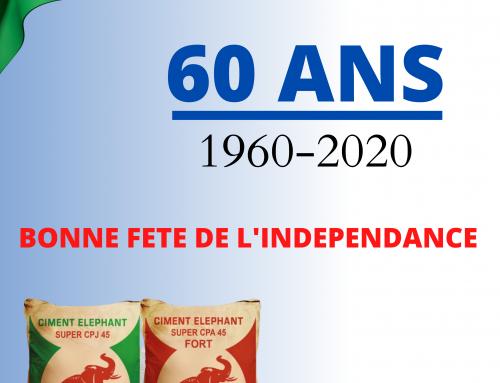 CIMASSO vous souhaite Bonne Fête de l'indépendance !