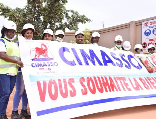 Visite de la cimenterie CIMASSO à Bobo -Dioulasso